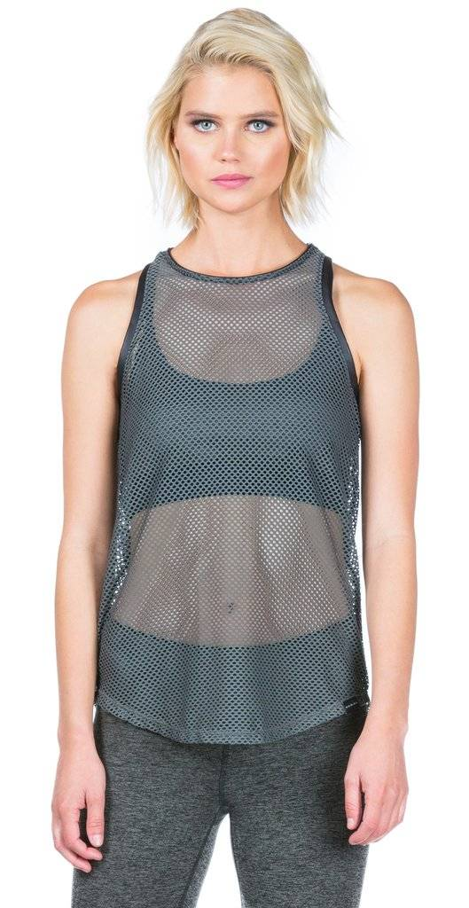 Koral Activewear Aerate Tank (Olive Green)