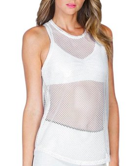 Koral Activewear Aerate Tank (White)
