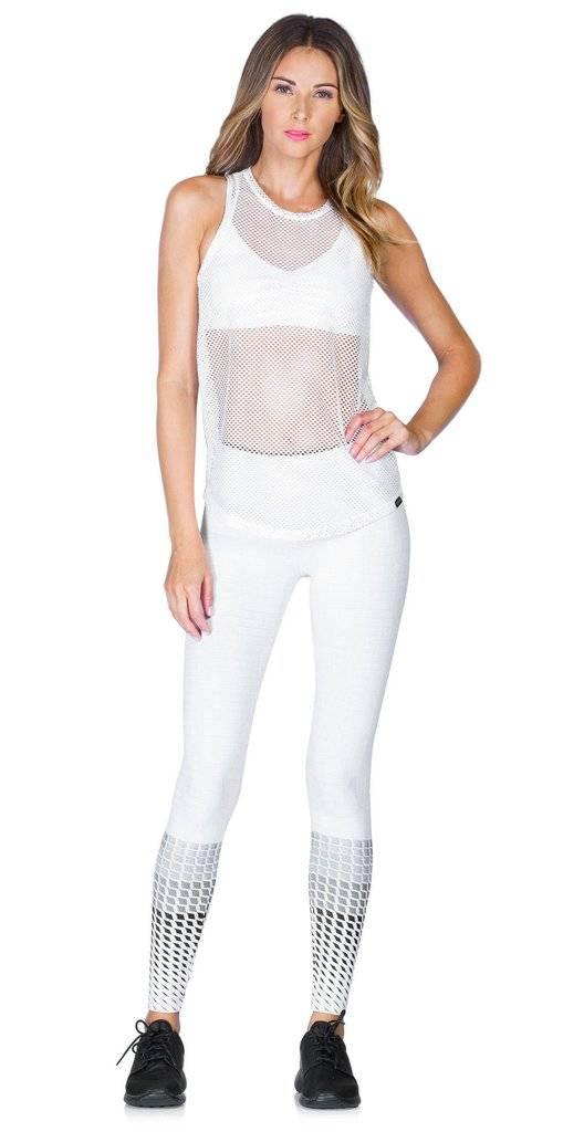 Koral Activewear Aerate Tank (White)
