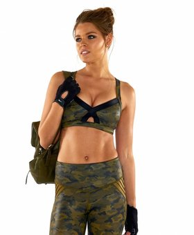 L'urv Lovers Army Bralette