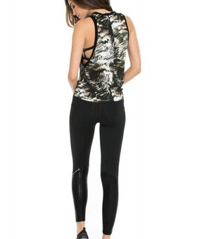 Body Language Sportswear Mia Tank - Heather Grey/Tropical Illusion
