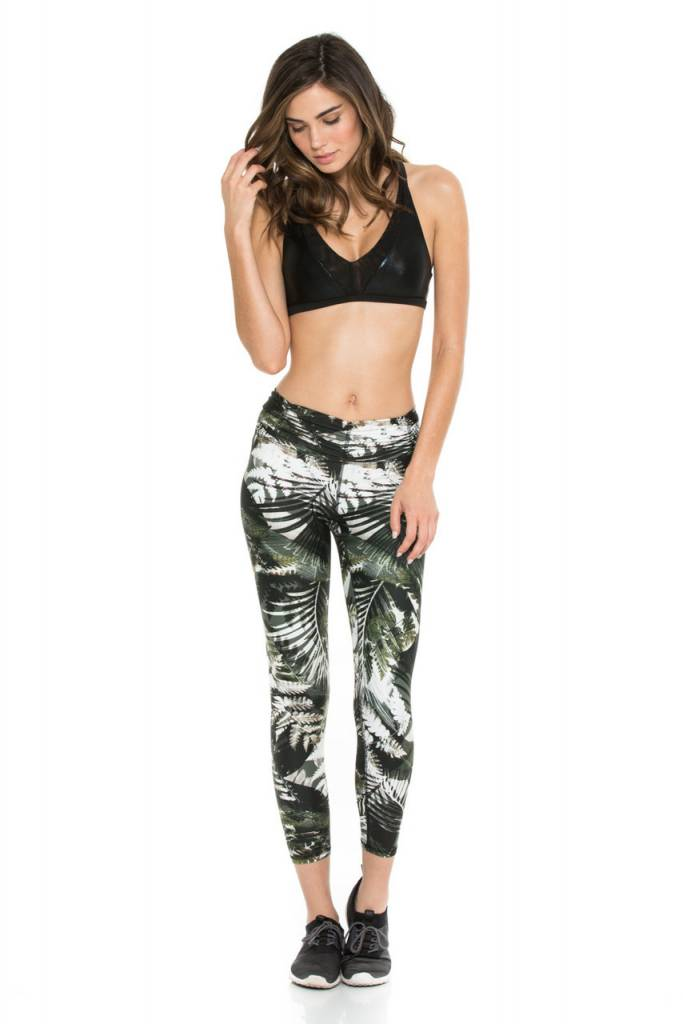 Body Language Sportswear Scrunchy Legging - Tropical Illusion