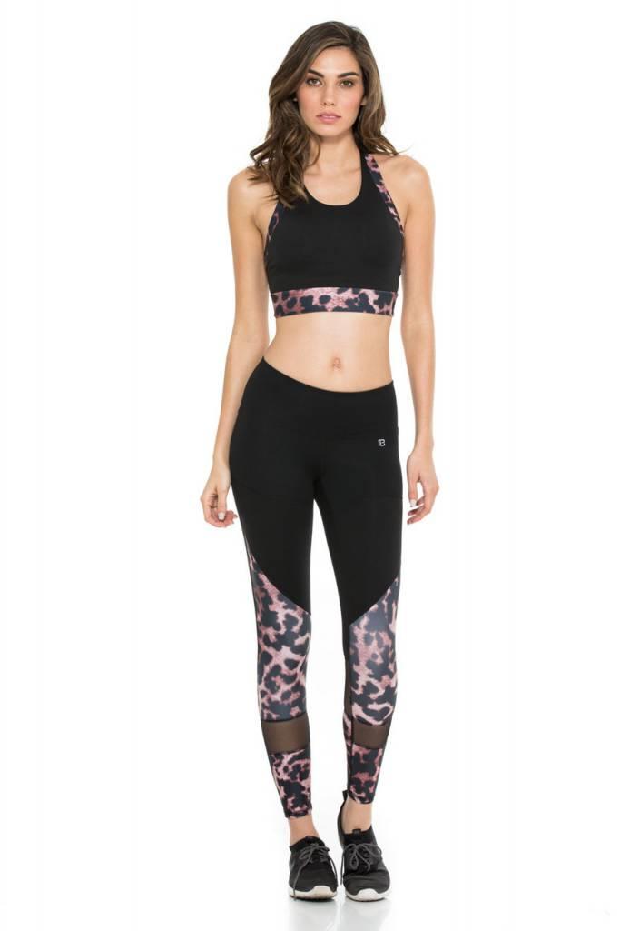 Body Language Sportswear Wildcat Black Araz Top