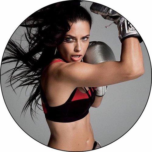 Adriana Lima in Michi on Voque cover