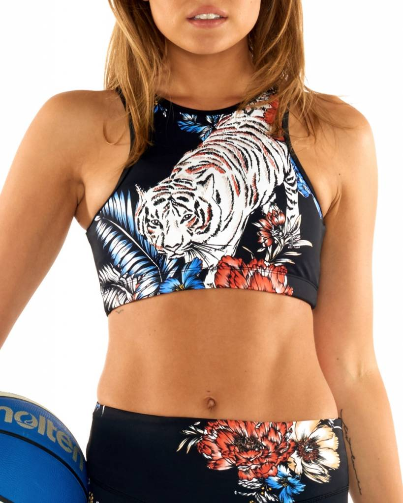 L'urv Rumble In The Jungle Halter Crop