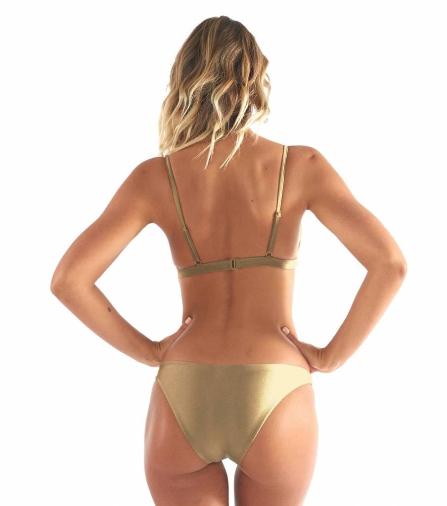L'urv Shimmer Me Bikini  - Gold