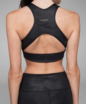 Varley Brooks Crop Black Camo