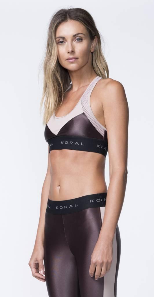 Koral Activewear Emblem Versatility Bra
