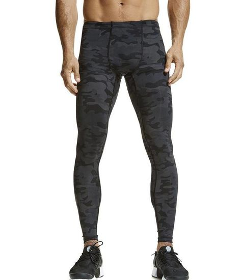 Vimmia Men's Printed Core Legging Dark Camo