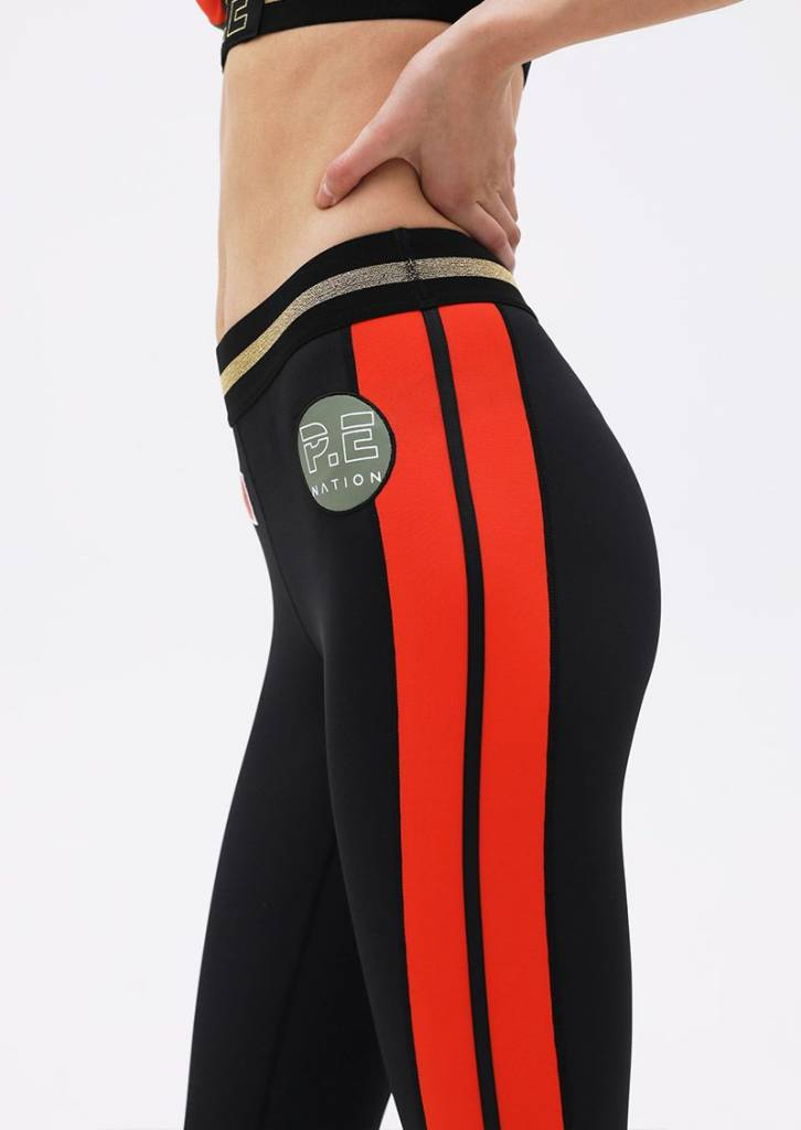 P. E Nation On Deck Legging Black