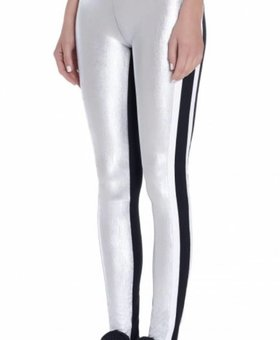 NO KA'OI Kalia Leggings Silver