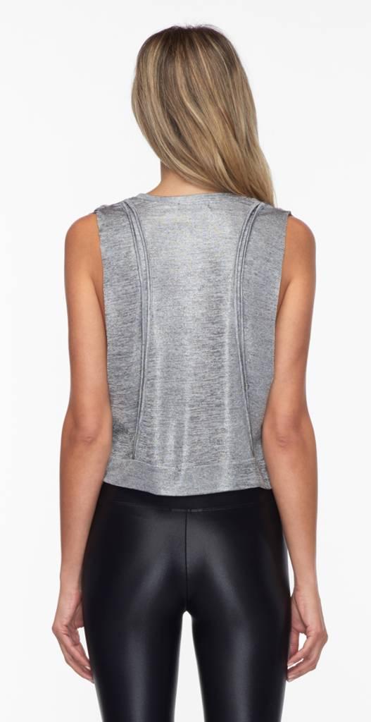 Koral Activewear Cut Deanna Crop Top