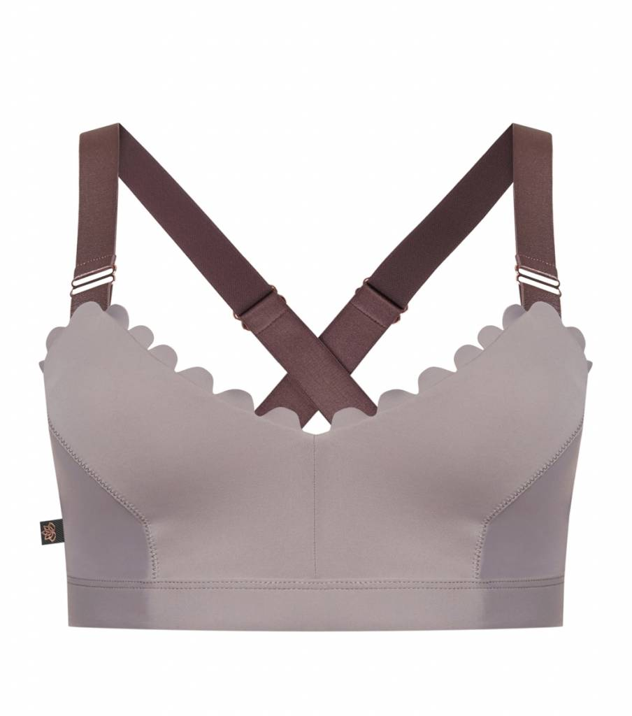 L'urv I'm on Clouds Bralette- Lilac