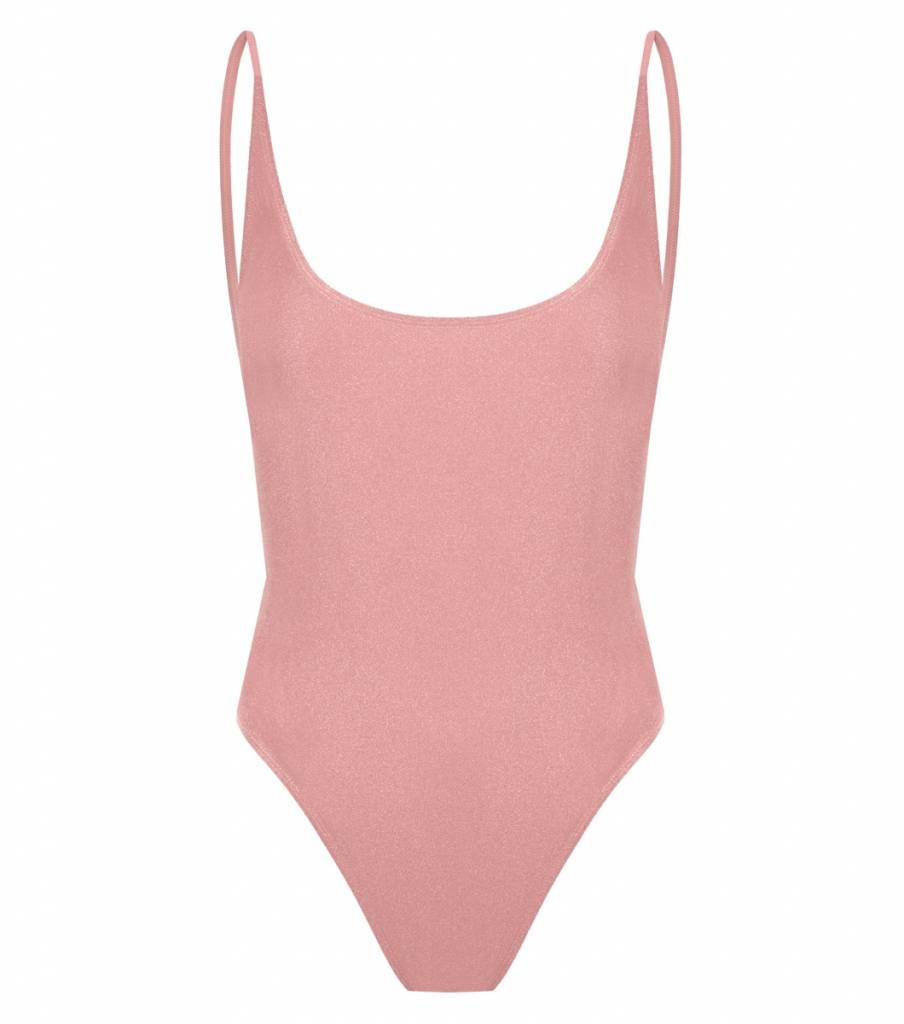 L'urv Shimmer Me One Piece  - Dusty Pink