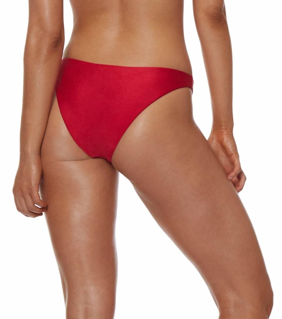 L'urv  One Shoulder Bikini - Red