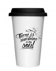 The gift Label Take away mug