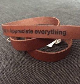 WFTH Mantra armband