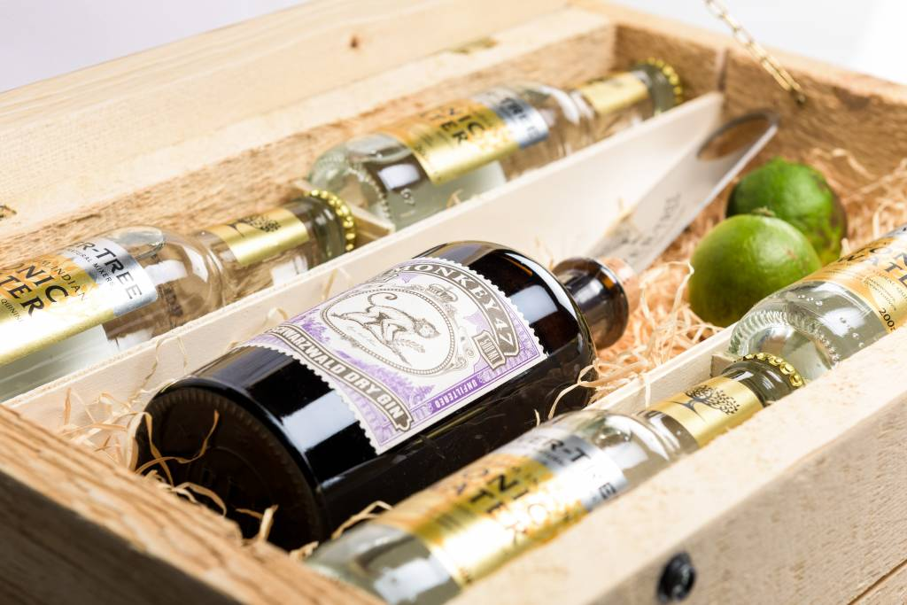 Gin tonic box als perfect cadeau