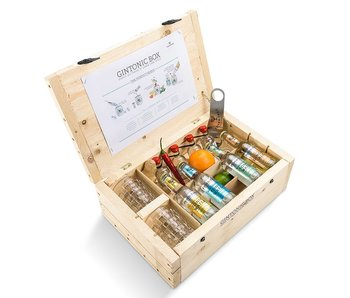 V2C gin miniature giftbox
