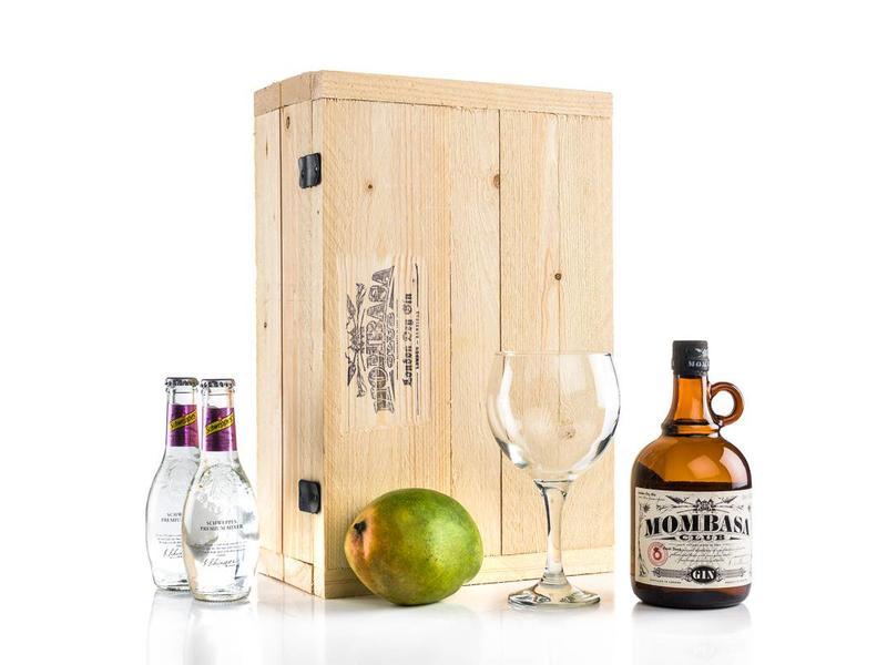 Mombasa Club Gin tonic box