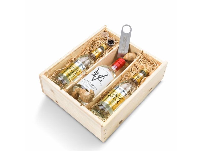 V2C Dry gin giftbox
