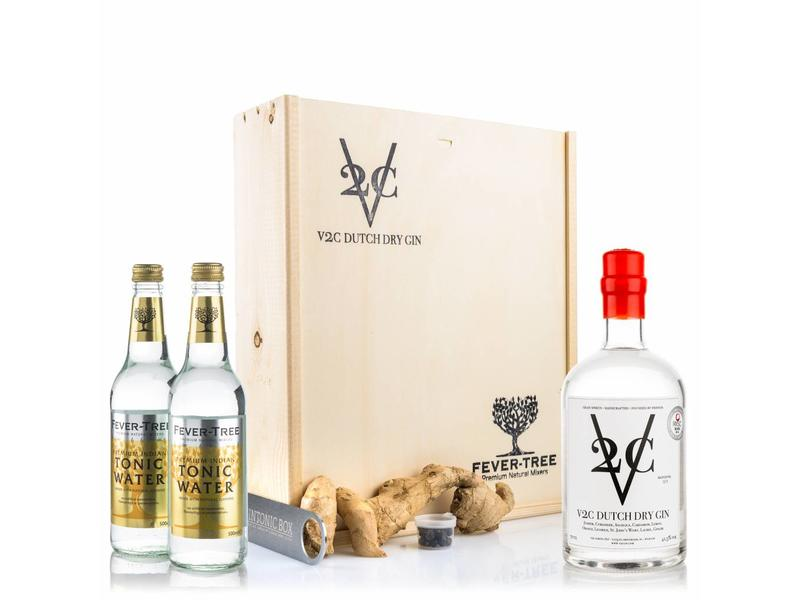 V2C Dry gin & Indian tonic
