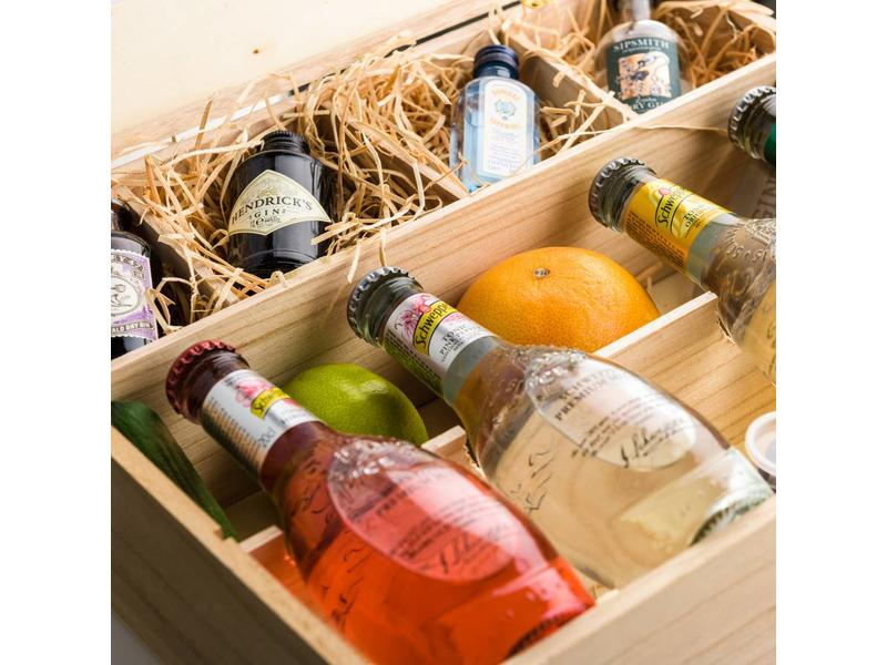 Schweppes premium winebox