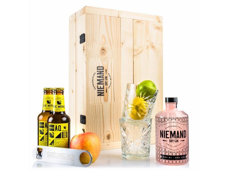 Niemand gin giftbox