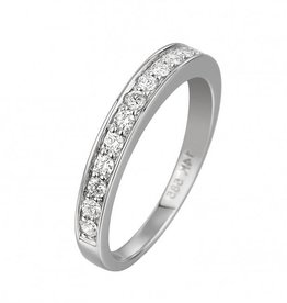 14 krt goud huiscollectie GA835 WG Diamanten ring