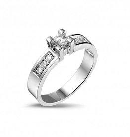 14 krt goud huiscollectie 0.40crt Special Diamanten ring