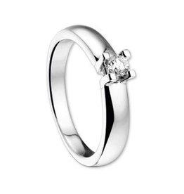 14 krt Goud Collectie 0,15crt Diamanten ring