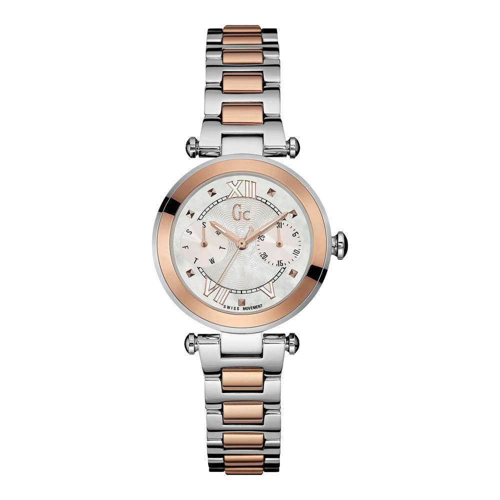 GC Swiss Dames horloge met bicolor