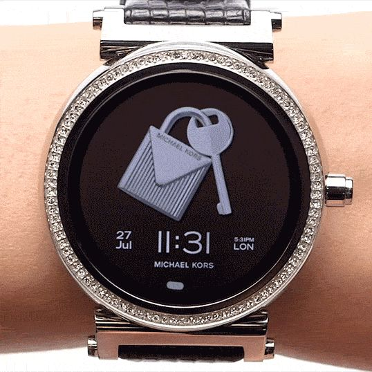 Michael Kors Sofie Pavé smartwatch Acces