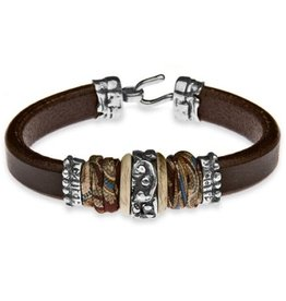 Platadepalo Armband brown leather L37A T