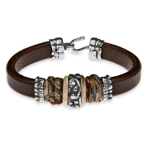 Armband brown leather