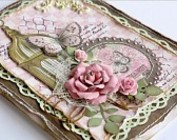 ALBUMS, ORNAMENTS, CHIPBOARDS FOR SCRAPBOOKING