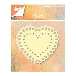 Joy!Crafts / Jeanine´s Art, Hobby Solutions Dies /  Stansning og prægning skabeloner: Heart