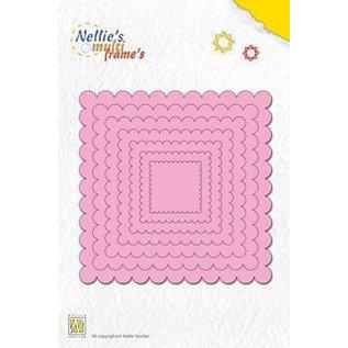 Nellie Snellen Multi skabelon firkanter