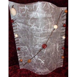 BASTELZUBEHÖR, WERKZEUG UND AUFBEWAHRUNG Straw silk paper, 47 x 64 cm, white