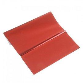 BASTELZUBEHÖR, WERKZEUG UND AUFBEWAHRUNG folha metálica, de 200 x 300 mm, 1 folha, vermelho