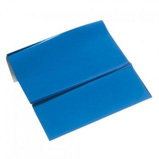 BASTELZUBEHÖR, WERKZEUG UND AUFBEWAHRUNG Metallic-Folie, 200 x 300 mm, 1 Blatt, blau