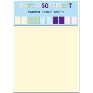 DESIGNER BLÖCKE / DESIGNER PAPER Karton A4, pastels