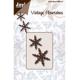 Joy!Crafts / Hobby Solutions Dies Skæring dør: to snekrystaller