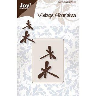 Joy!Crafts / Jeanine´s Art, Hobby Solutions Dies /  Poinçonnage et gaufrage modèles: 2 Dragonfly