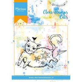 Marianne Design Transparent Stempel: Katze