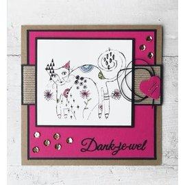 Marianne Design selo transparente: Gato