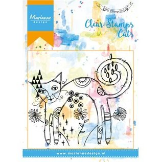 Stempel / Stamp: Transparent Transparent stempel: Cat
