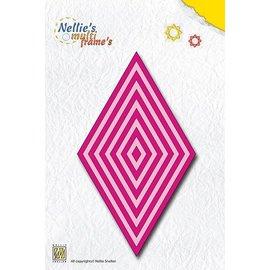 Nellie Snellen Poinçonnage et gaufrage modèles: Multiframe Ce diamant