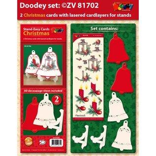 BASTELSETS / CRAFT KITS Exclusivités Bastelset pour 2 cartes de Noël titulaire de la carte +