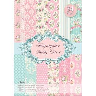 DESIGNER BLÖCKE / DESIGNER PAPER Elegante lamentable Designerpapierset